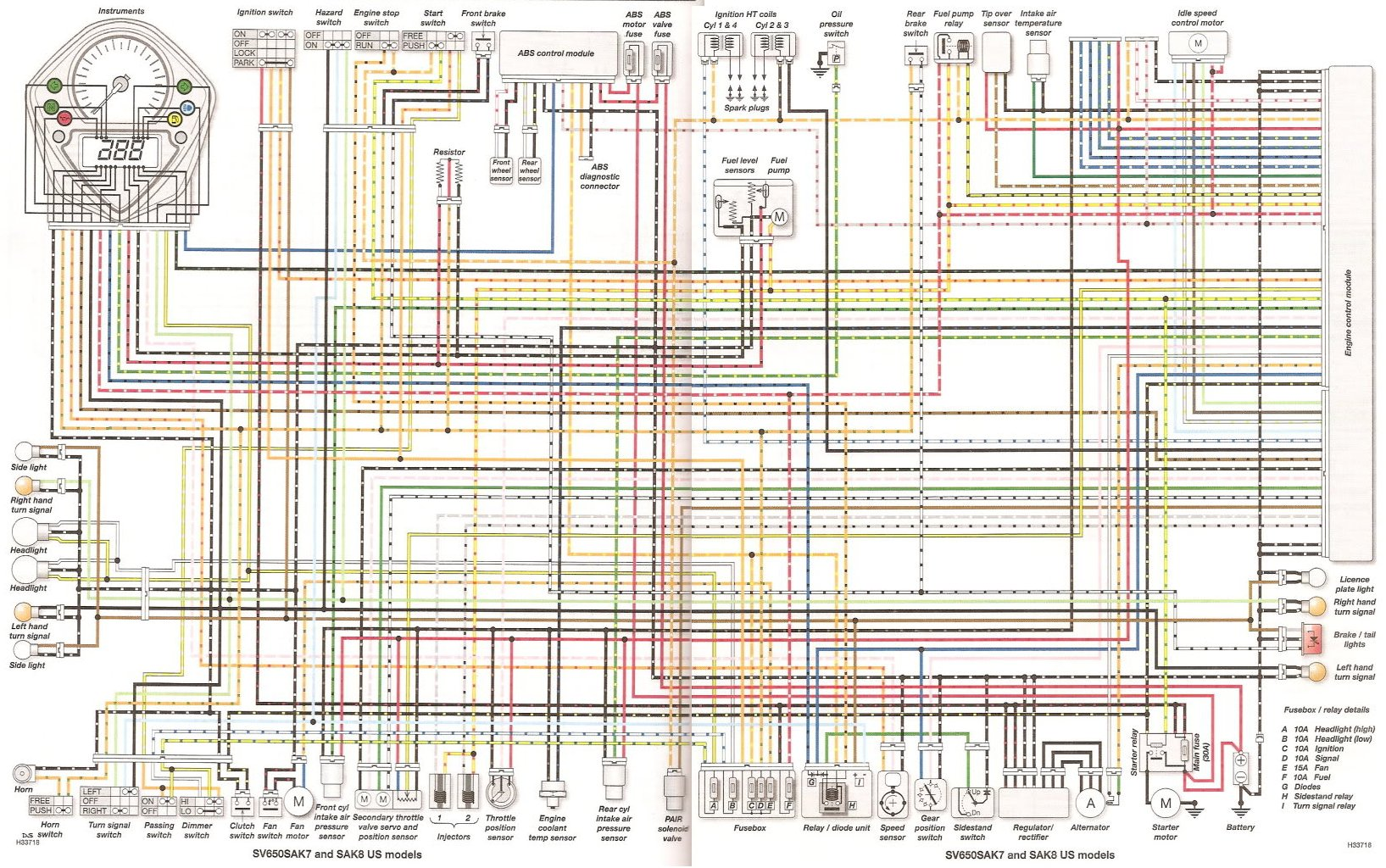 sv650sa_2007 2008_color_wiring 2006 cbr600rr wiring diagram vt1100 wiring diagram \u2022 free wiring 2008 suzuki gsxr 600 wiring diagram at n-0.co